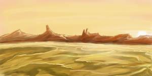 Fire desert by Kitanokata