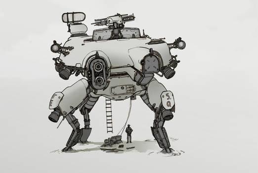 Spacecrab