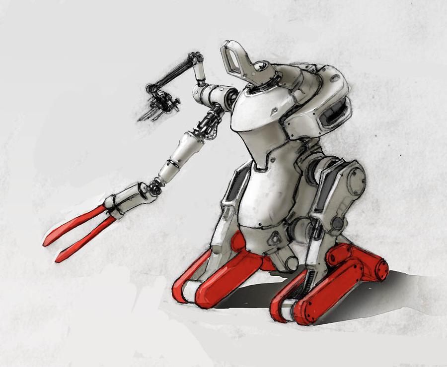 Nurse Bot 2 by dfacto