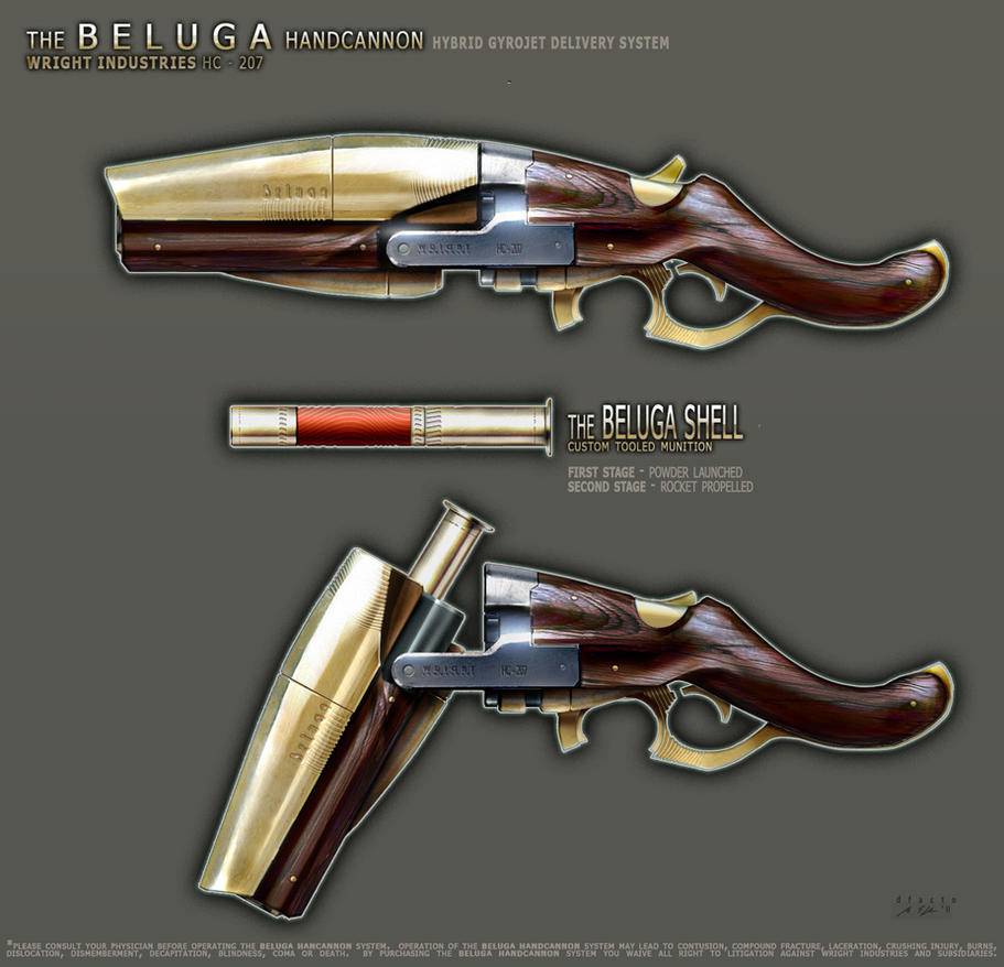 Beluga Handcannon v2 by dfacto