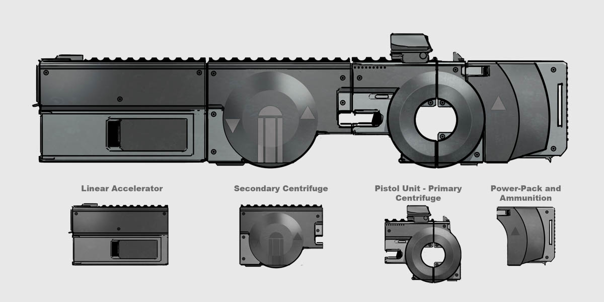 Centrifuge Rifle by dfacto