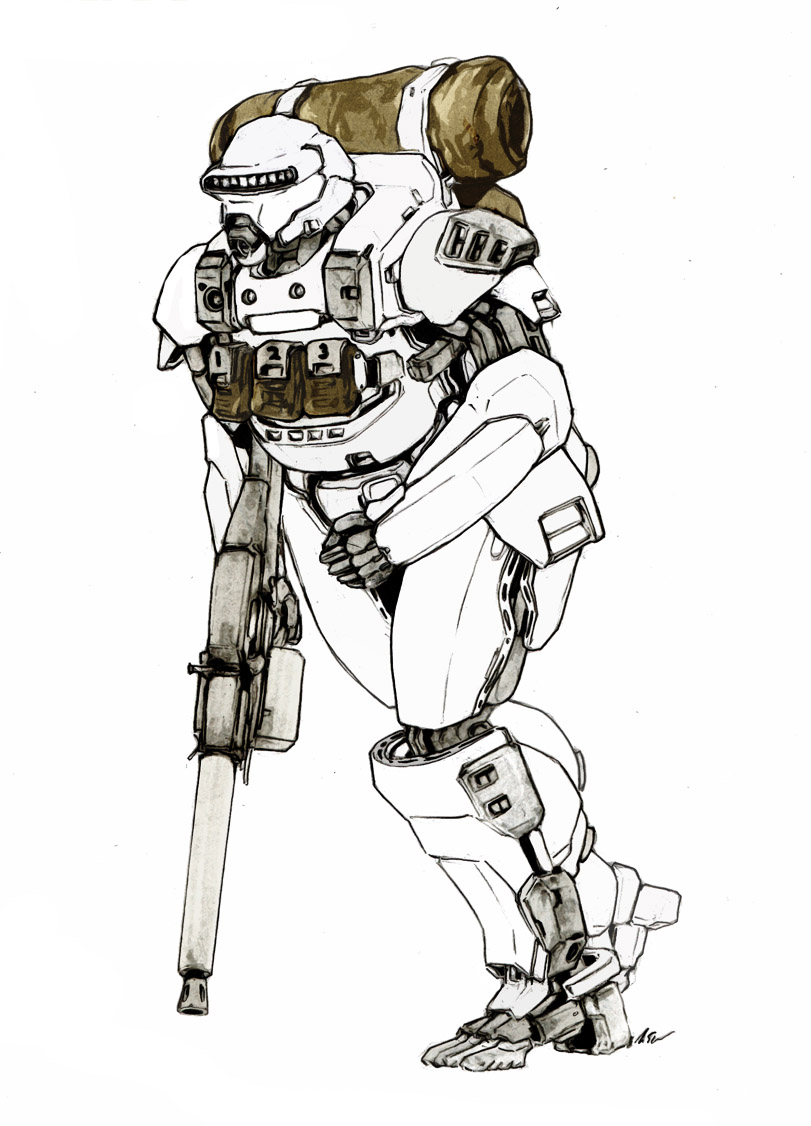 Expeditionary Force Marine by dfacto