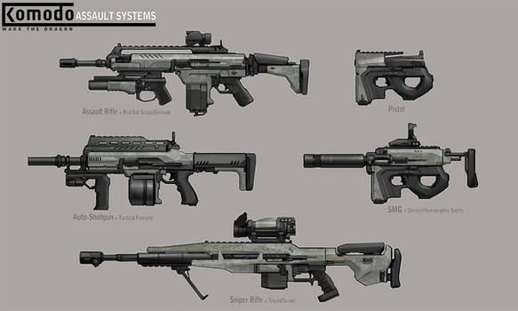 Komodo Assault System