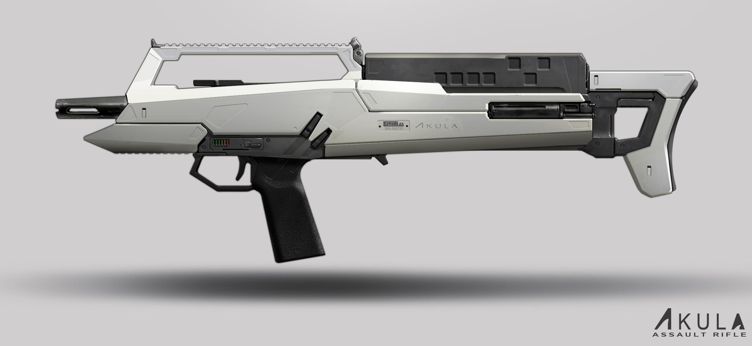 Akula Rifle by dfacto