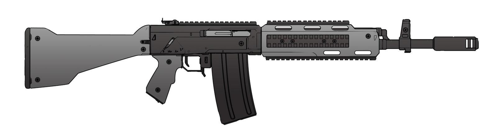 AV-111 Assault Rifle by dfacto