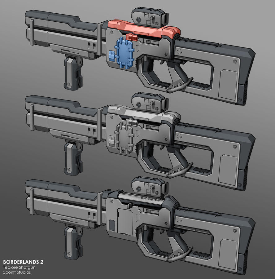 Tediore Shotgun by dfacto