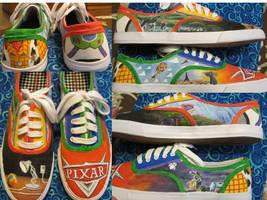 Pixar Shoes by twrl11