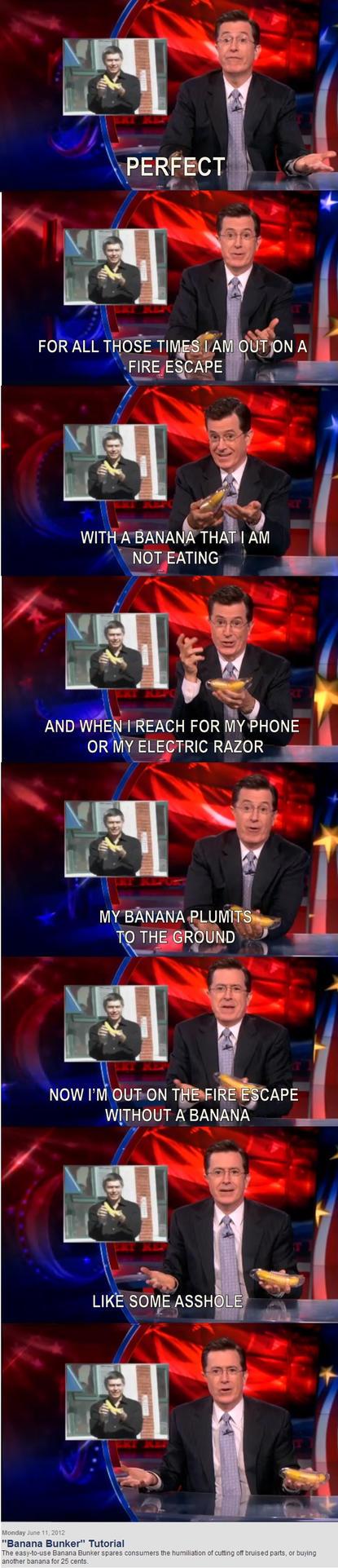 Banana Bunker by twrl11