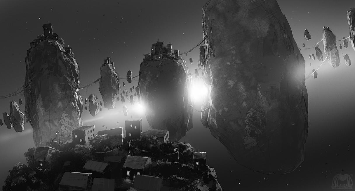 Asteroids by alexandreev