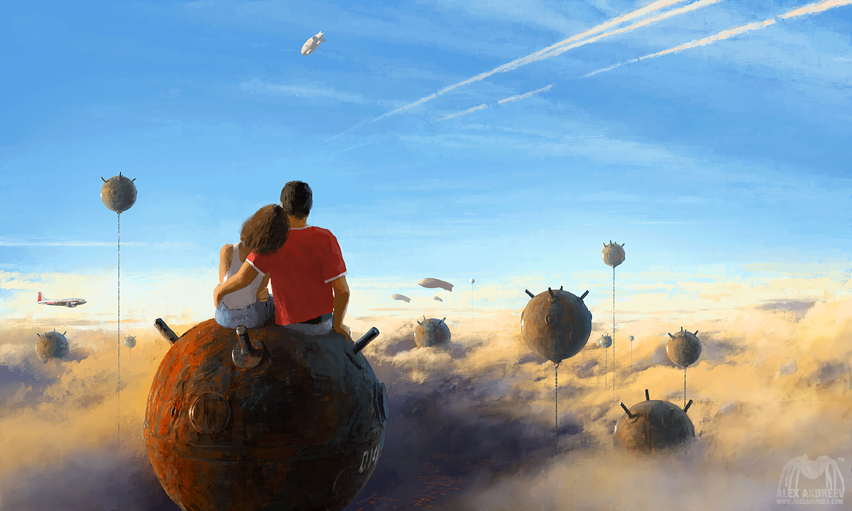 Escape by alexandreev