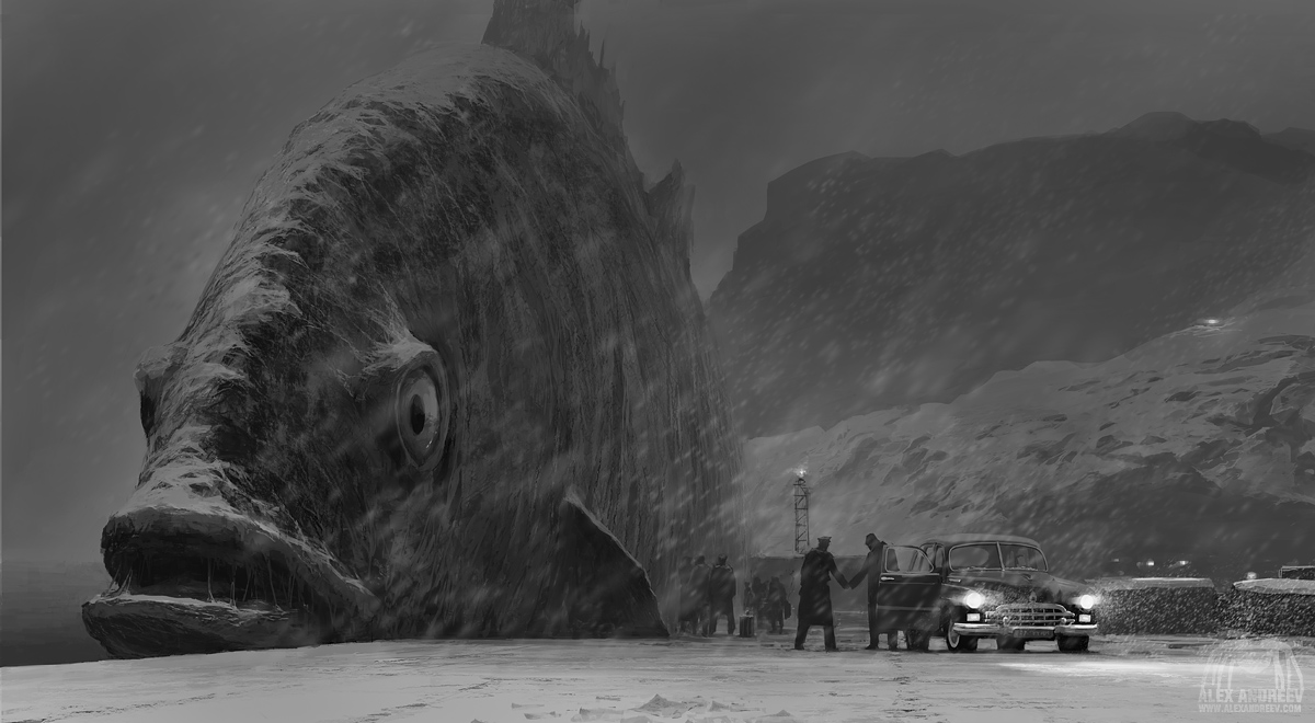 Weird Black And White Art : White sea by alexandreev on deviantart