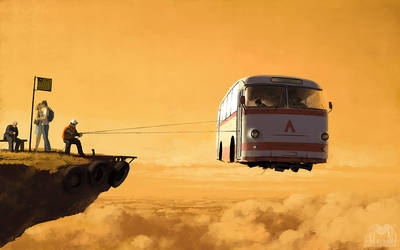 Route Number Two by alexandreev
