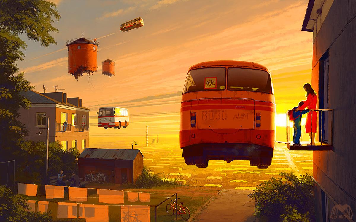 Homeland, 8:00 AM by alexandreev