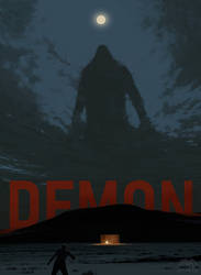 Poster for DEMON short movie