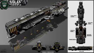 Atlas Class Dreadnought by Calates