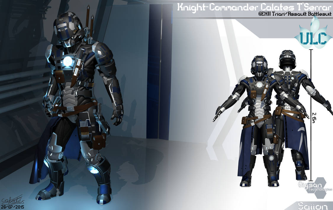 Knight-Commander Calates T'Serrar by Calates