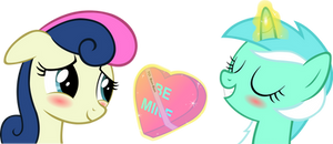 Happy Hearts and Hooves Day, Bonbon!