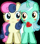 Filly Lyra 'n Bonbon