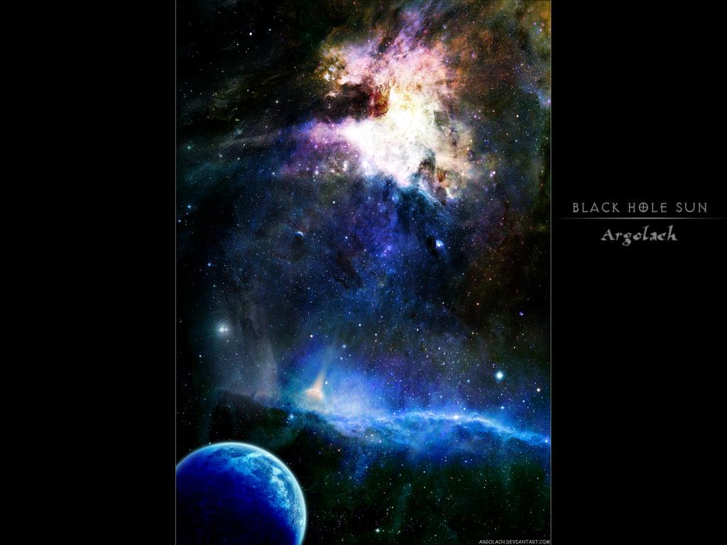 Black Hole Sun by argolach