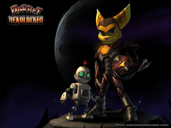 Ratchet and Clank by ZeroSuitSamusLover