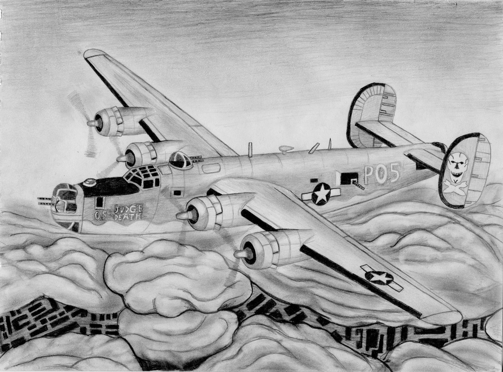 B-24 last version by warrior1944