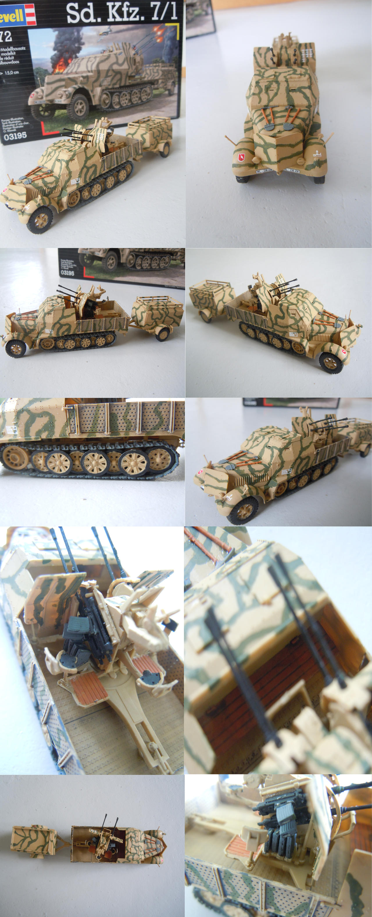 Sd.Kfz 7/1 by warrior1944