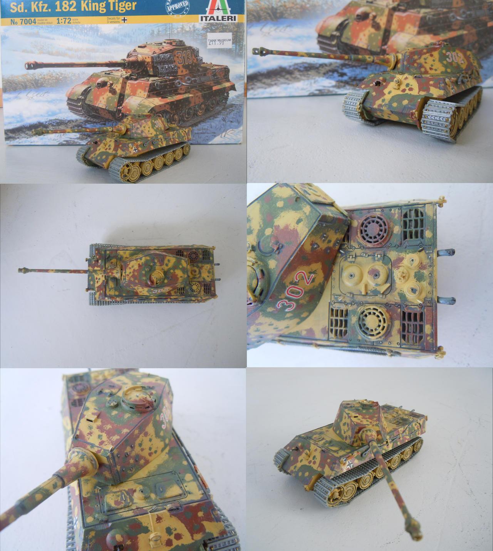 Italeri King Tiger 1/72 by warrior1944