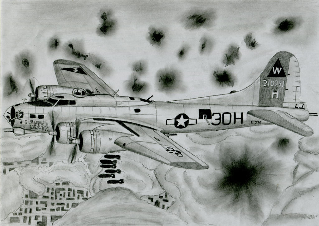 B-17 G by warrior1944