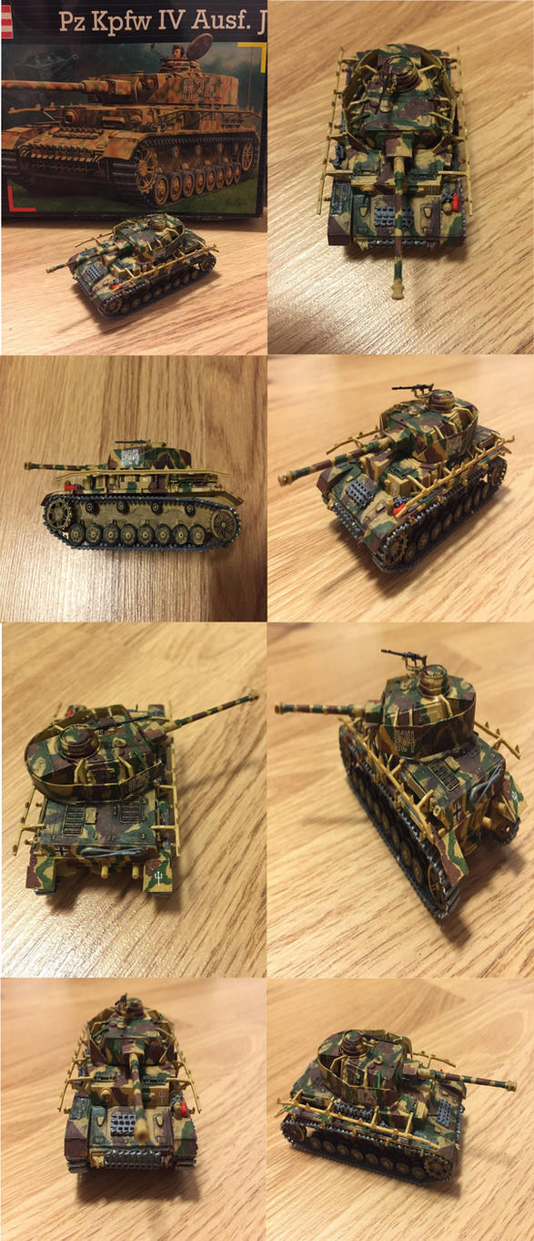 Panzer IV J by warrior1944