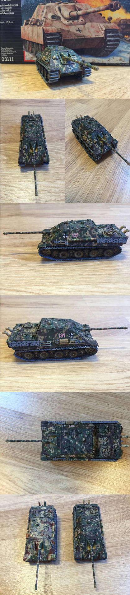 Jagdpanther Late version by warrior1944