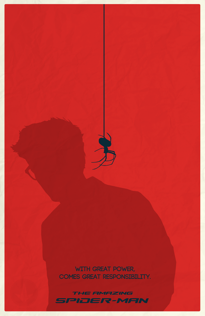 The Amazing Spider-Man Poster by AncoraDesign