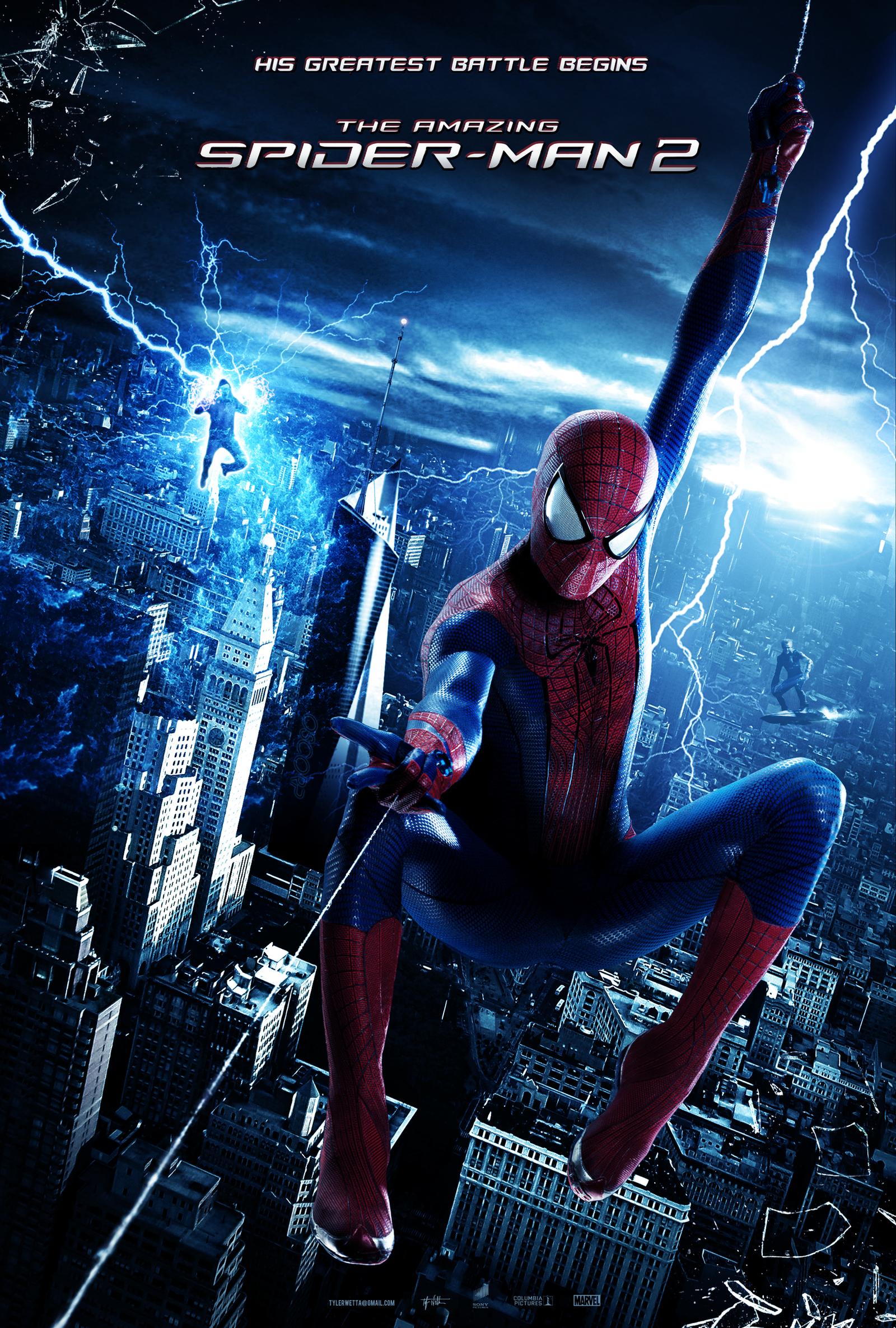The Amazing Spider-Man 2 Poster by tyler-wetta on DeviantArt