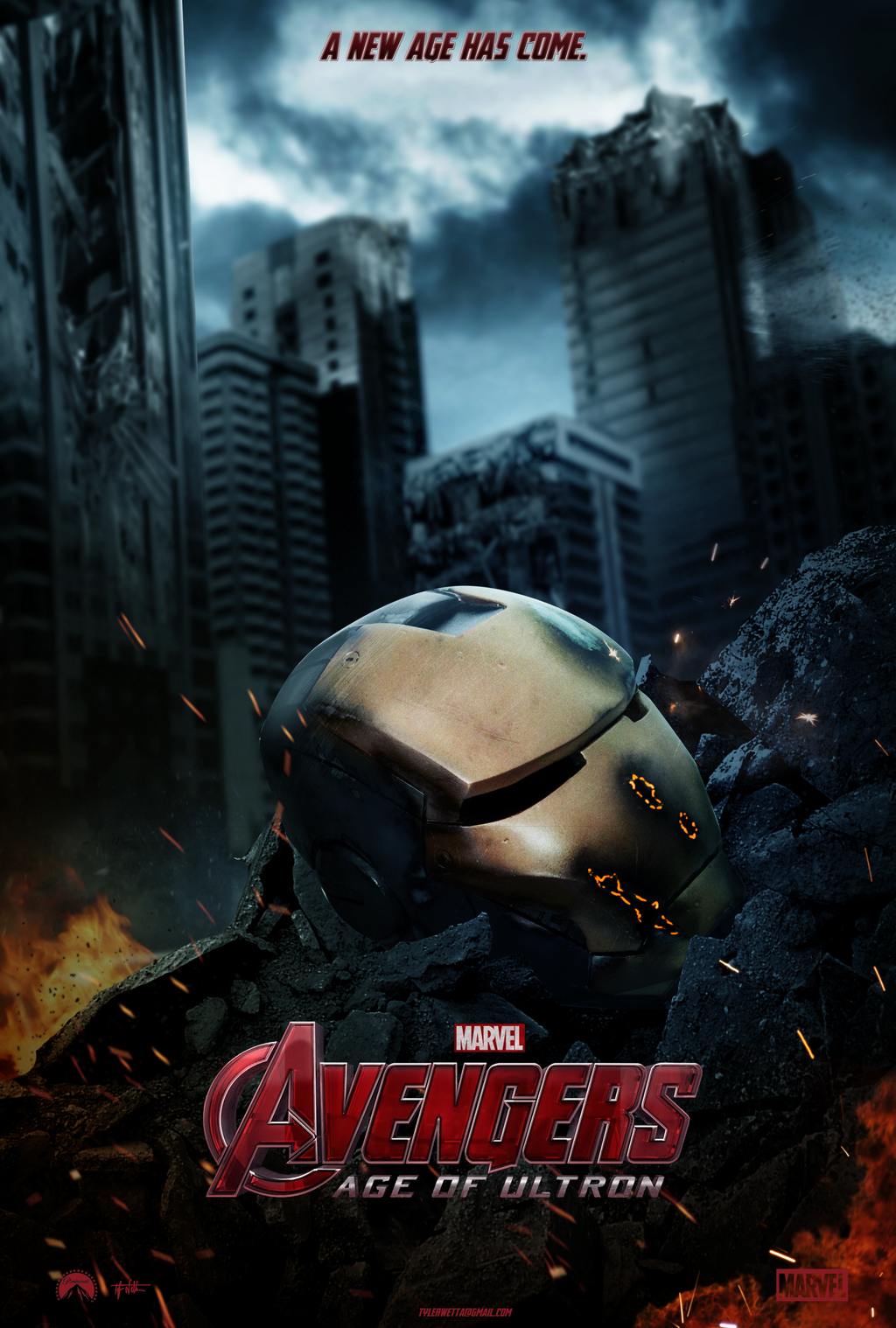 Avengers: Age of Ultron Movie Poster - Iron Man by tyler ...
