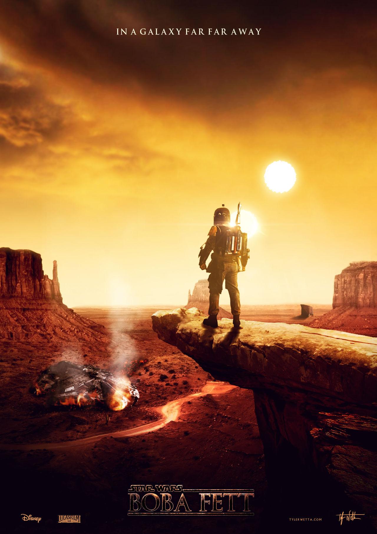 Star Wars: Boba Fett Movie Poster