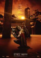 Boba Fett Movie Poster by tyler-wetta