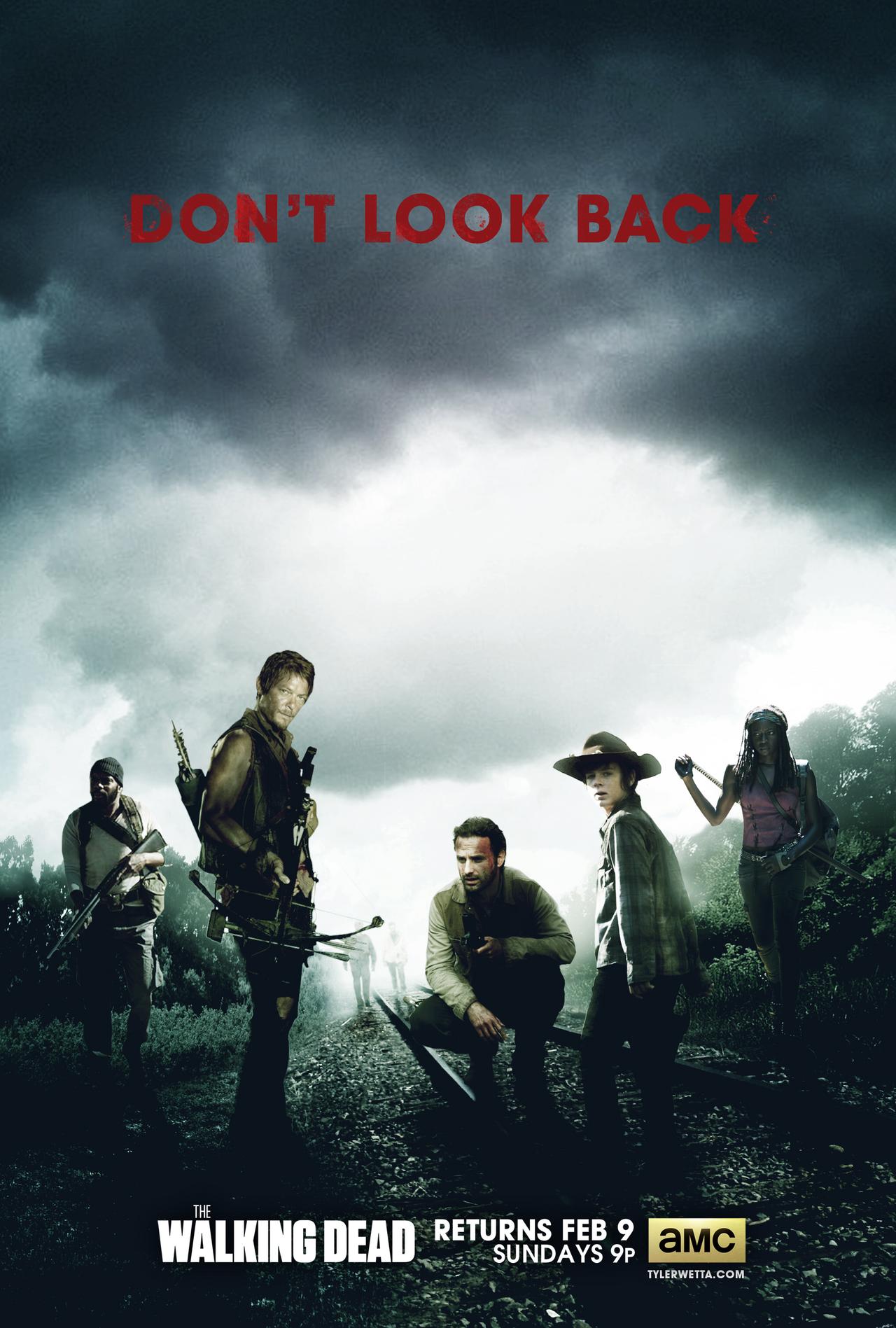 The Walking Dead Poster - Season 4 by tyler-wetta on ...