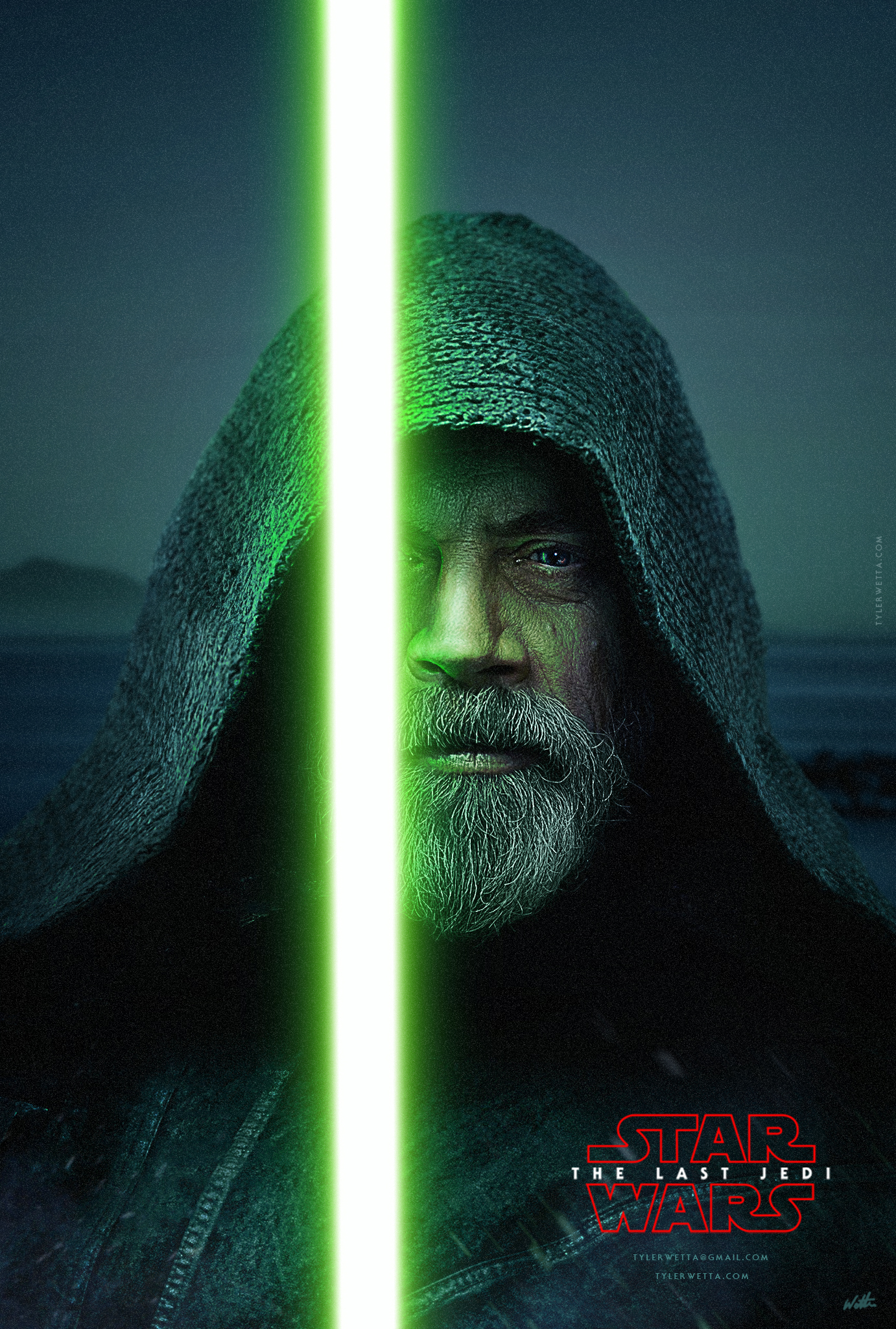 Starwars The Last Jedi Poster News Of New Car 2019 2020 Jeep Wrangler Factory Subwoofer Wiring Movie By Tyler Wetta