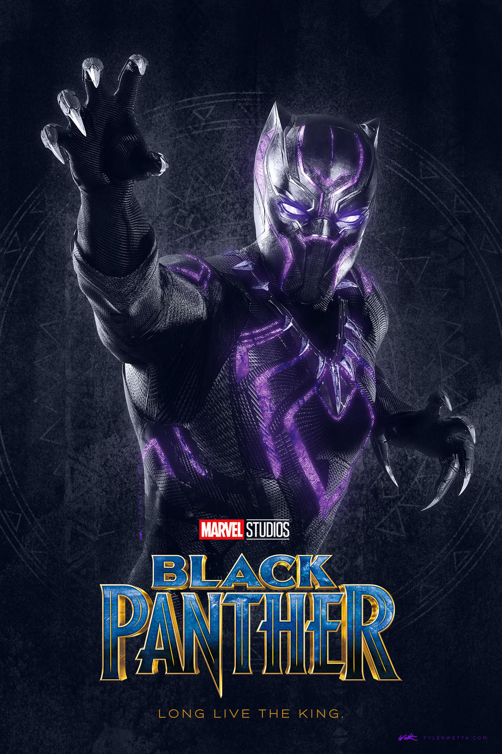 BlackPantherPoster2v1 by tyler-wetta