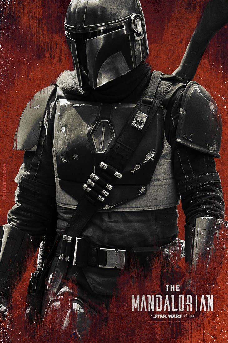 The Mandalorian - A Star Wars Series by tyler-wetta