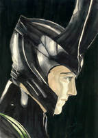 Loki (Hiddles) by Wakagi-chan