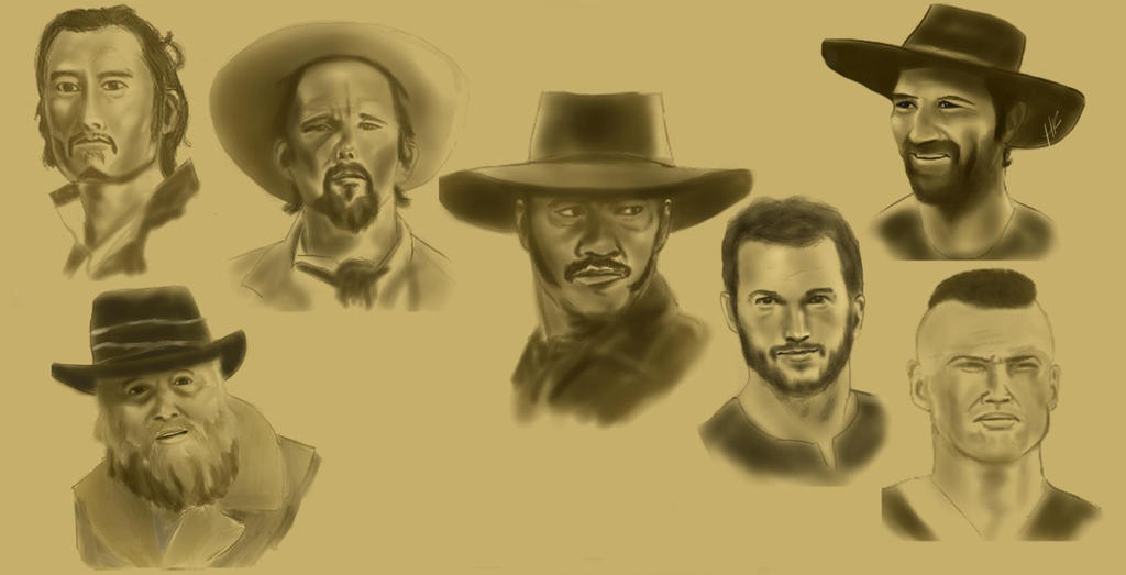 Magnificent 7 by GrayWilkinson