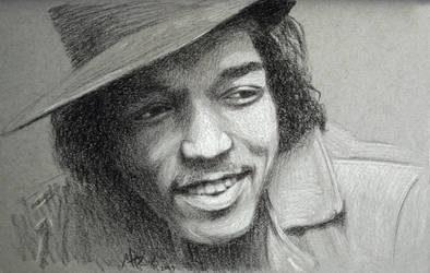 Request: Jimi Hendrix by MidnightReinor
