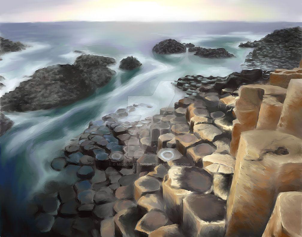Giant's Causeway by MidnightReinor