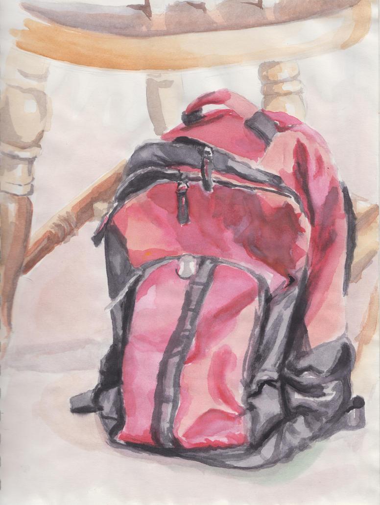 Still Life: Watercolor by MidnightReinor