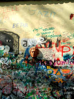 John Lennon's Wall by cerise-agressive
