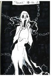 Inktober 10-22-19 'Ghost'