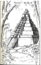 Inktober 10-23-19 'Ancient'