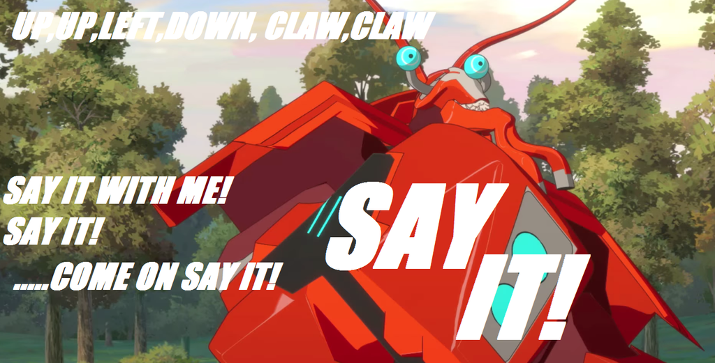Up,up,left,down,claw,claw by starscream0666