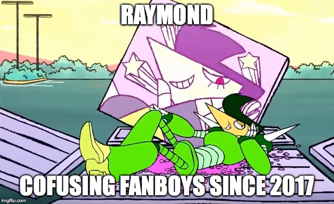 RAYMOND! by starscream0666