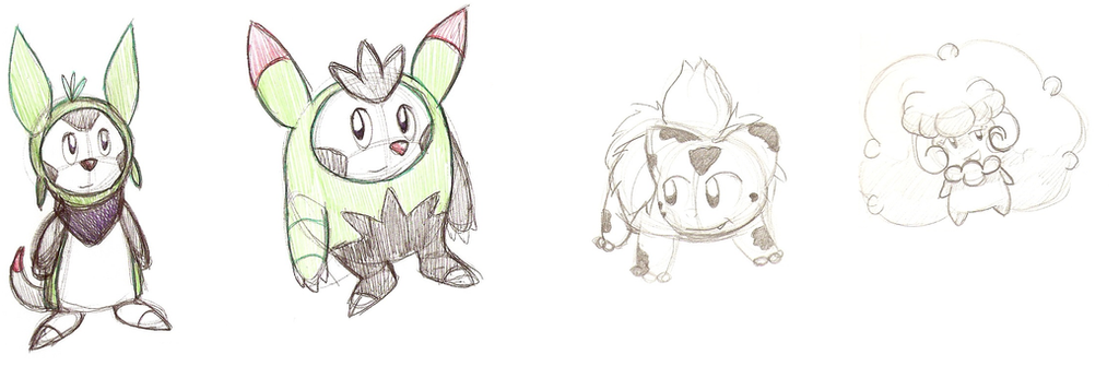 PokedeXY Day 10: Fave Grass Type(s) by HyperSonicFire15
